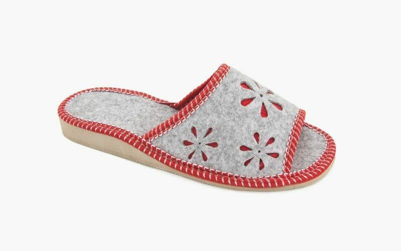 Pantofel damski filcowy nr kat. 418 - sprzedaż hurtowa