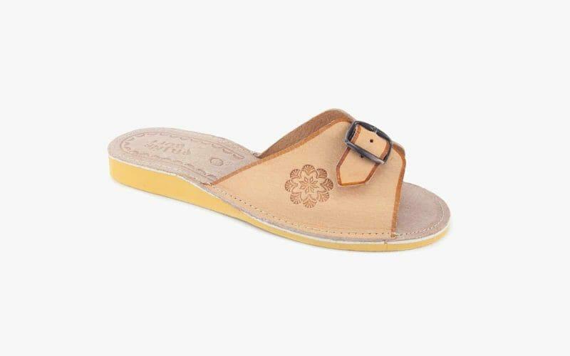 Pantofel damski skórzany nr kat. 422 - sprzedaż hurtowa