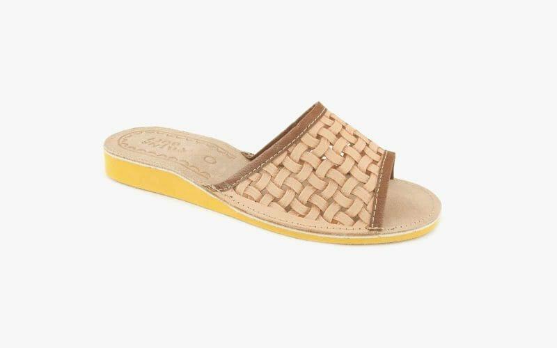 Pantofel damski skórzany nr kat. 497 - sprzedaż hurtowa