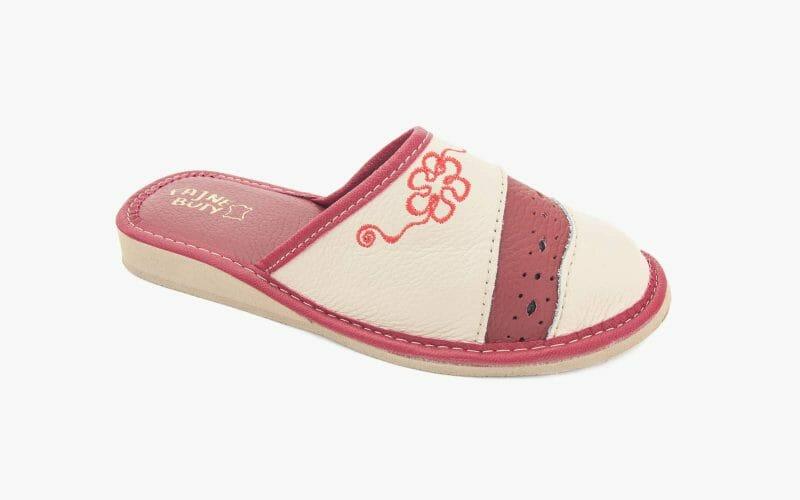 Pantofel damski skórzany nr kat. 512 - sprzedaż hurtowa