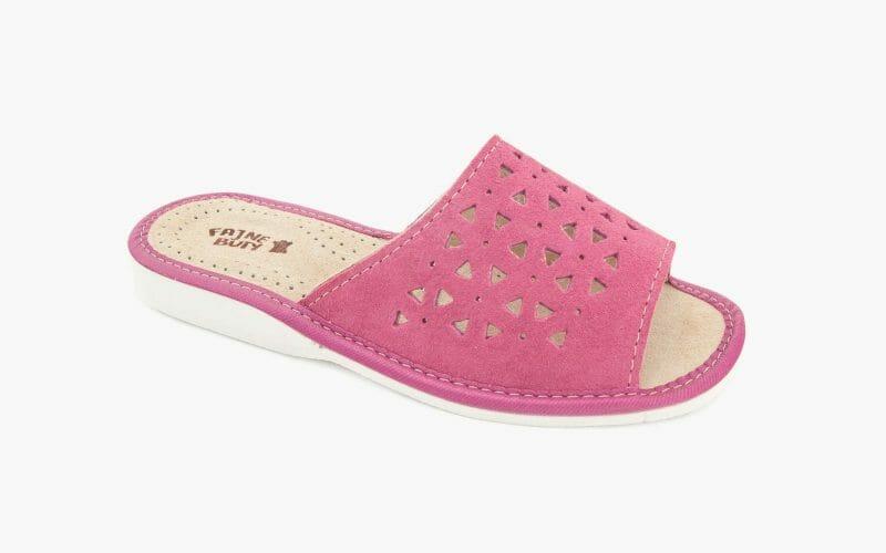 Pantofel damski nr kat. 521 łosoś - sprzedaż hurtowa