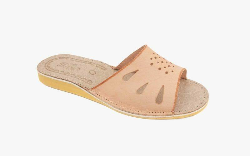 Pantofel damski skórzany nr kat. 527 - sprzedaż hurtowa