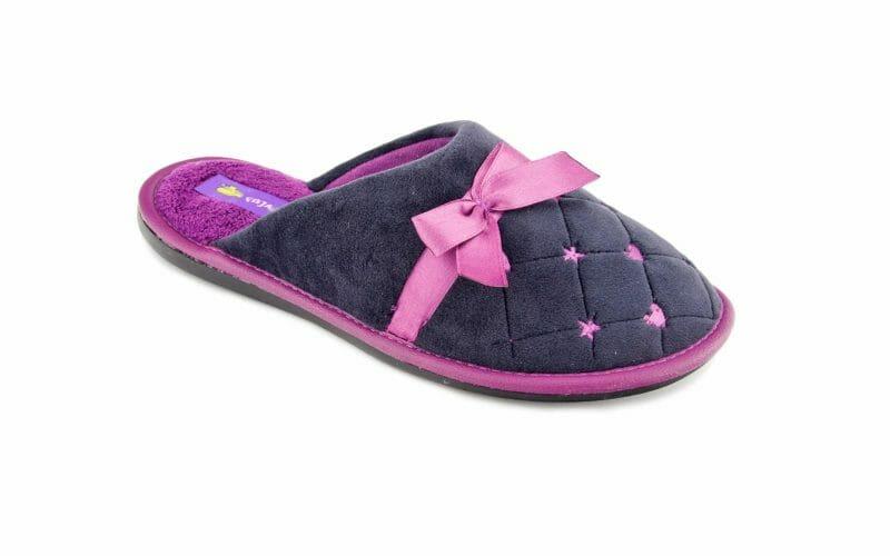 Pantofel damski bawełniany nr kat. 713 - sprzedaż hurtowa