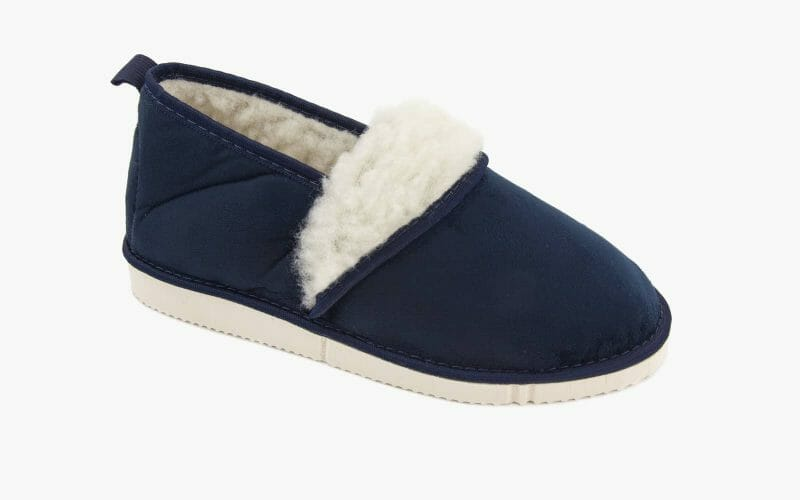 Pantofel damski zimowy nr kat. 844 brąz - polski producent